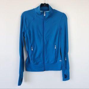 Alo Yoga Zip Up Jacket Teal Size XS
